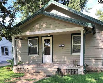 McPherson Single Family Home For Sale: 809 S Ash St
