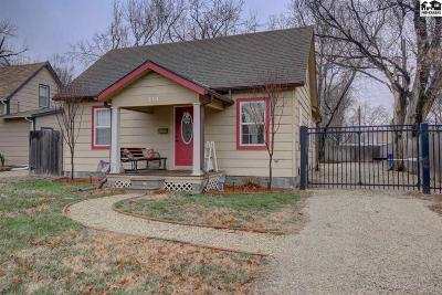McPherson County Single Family Home For Sale: 214 S Hartup St