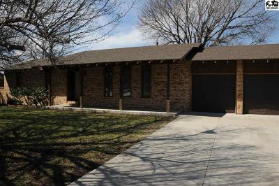 McPherson Single Family Home For Sale: 1455 Dover Rd