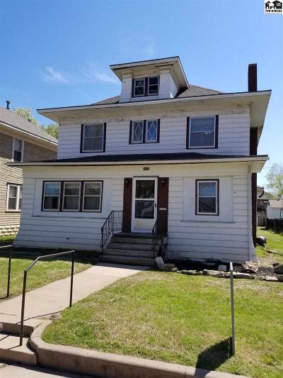 Hutchinson Single Family Home For Sale: 125 E 12th Ave