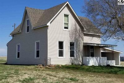 Lindsborg Single Family Home Contingent Other Co: 1362 Rainbow Rd