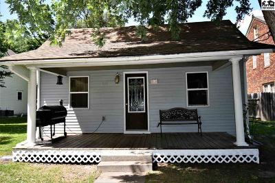 McPherson Single Family Home For Sale: 533 E Marlin St