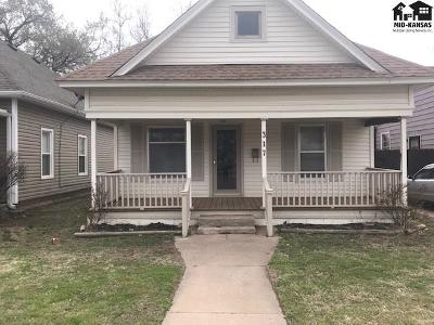 Hutchinson Single Family Home For Sale: 317 W 11th Ave