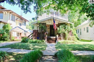 Hutchinson Single Family Home For Sale: 302 E 12th Ave