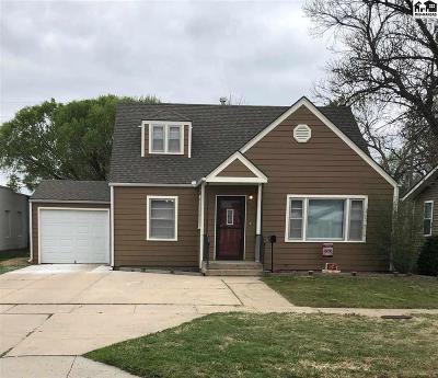 McPherson KS Single Family Home For Sale: $134,900