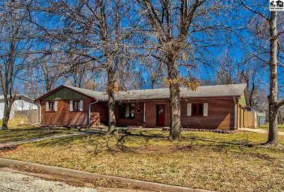 McPherson Single Family Home For Sale: 1145 S Central Ave