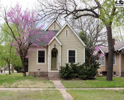 McPherson KS Single Family Home For Sale: $110,000
