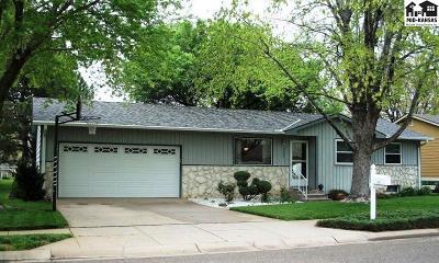 Hutchinson Single Family Home For Sale: 1208 E 27th Ave