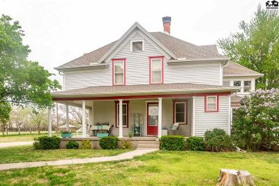 McPherson Single Family Home For Sale: 1654 Comanche Rd
