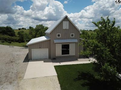 McPherson County Single Family Home For Sale: 1307 Pioneer Rd