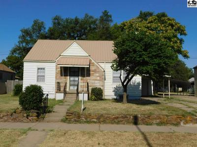 Hutchinson Single Family Home For Sale: 1415 N Monroe St