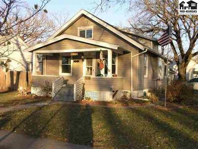 McPherson KS Single Family Home For Sale: $89,900