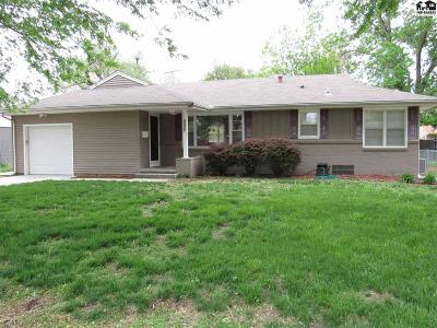 Hutchinson Single Family Home For Sale: 2904 N Madison St
