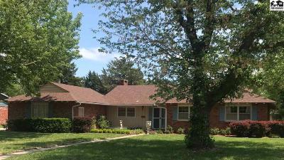 Hutchinson Single Family Home For Sale: 2804 Derenda Dr