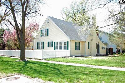 Hutchinson Single Family Home For Sale: 101 W 22nd Ave