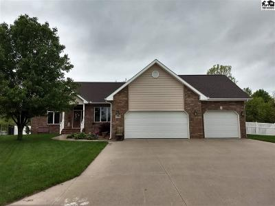 McPherson KS Single Family Home Contingent On Sale And Cl: $322,000