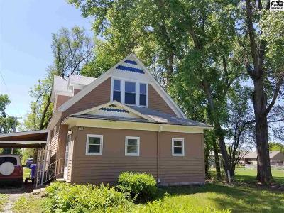 McPherson County Single Family Home For Sale: 425 W McPherson St