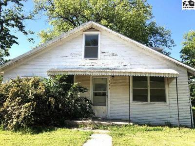 McPherson County Single Family Home For Sale: 205 W Morgan St