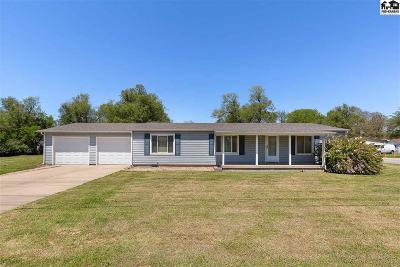Reno County Single Family Home For Sale: 1530 E Avenue G