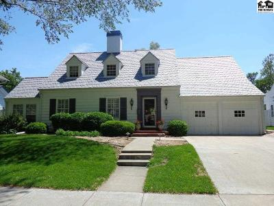 Hutchinson Single Family Home For Sale: 219 W 20th Ave