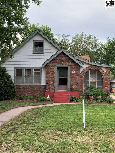 Reno County Single Family Home For Sale: 214 W 18th Ave