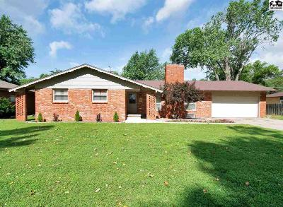 Hutchinson Single Family Home For Sale: 2801 N Bel Aire Rd