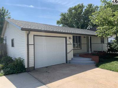 Moundridge Single Family Home For Sale: 117 W Grant St