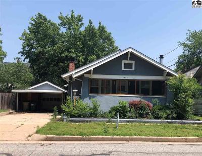 Hutchinson Single Family Home For Sale: 1608 N Washington St