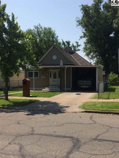 Hutchinson Single Family Home For Sale: 513 E 5th Ave