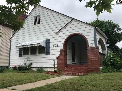 Hutchinson Single Family Home For Sale: 622 E Sherman Ave