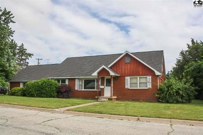Pratt Single Family Home For Sale: 1012 Green St