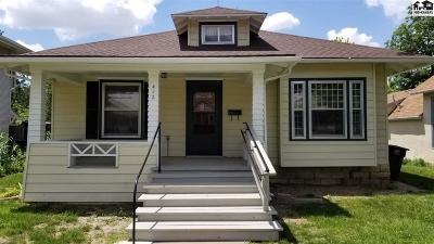 McPherson KS Single Family Home For Sale: $134,900