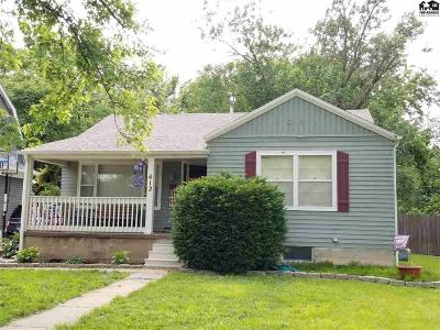 Lindsborg Single Family Home For Sale: 412 S Main St