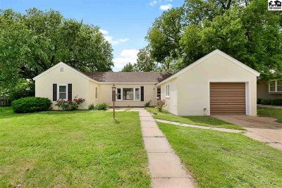 Hutchinson Single Family Home For Sale: 1807 N Monroe St