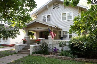 McPherson County Single Family Home For Sale: 537 E Euclid St