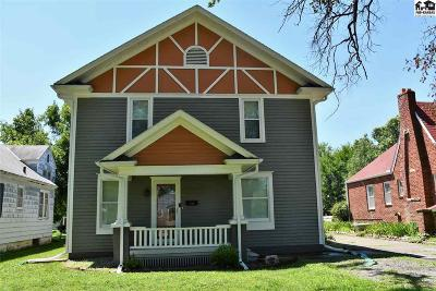 McPherson KS Single Family Home Contingent On Sale And Cl: $156,000