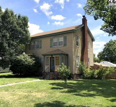 McPherson Single Family Home For Sale: 923 S Maple St