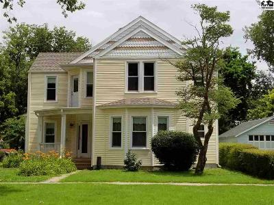 Lindsborg Single Family Home For Sale: 232 N Main St