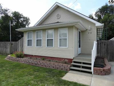 McPherson County Single Family Home For Sale: 218 E Ave. F