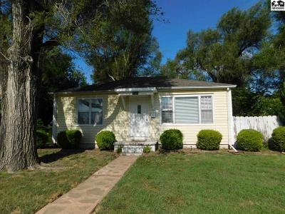 Hutchinson Single Family Home For Sale: 1409 N Van Buren St