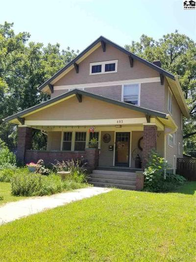McPherson County Single Family Home For Sale: 403 N Main