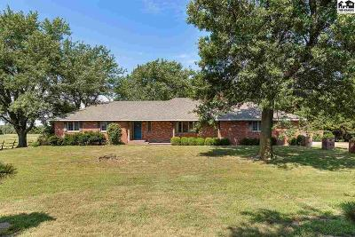 Hutchinson Single Family Home For Sale: 2701 N Obee Rd