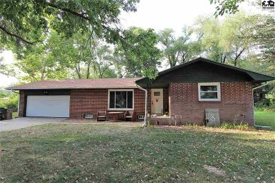 Hutchinson Single Family Home For Sale: 5900 N Cactus Dr