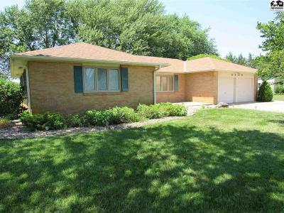Hutchinson Single Family Home For Sale: 4309 N Plum St
