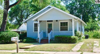 Hutchinson Single Family Home For Sale: 420 S Howard St