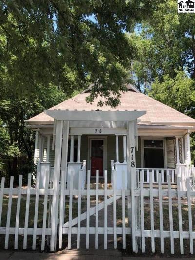 Hutchinson Single Family Home For Sale: 718 E 5th Ave
