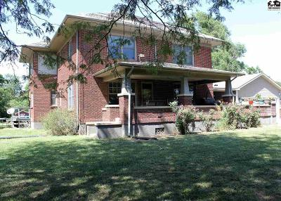 McPherson Single Family Home For Sale: 1190 Limestone Rd