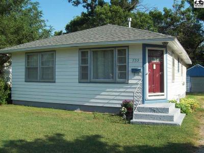 McPherson KS Single Family Home For Sale: $83,000
