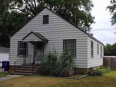 McPherson KS Single Family Home For Sale: $90,000