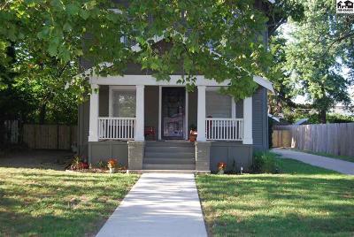 Hutchinson Single Family Home For Sale: 314 Crescent Blvd